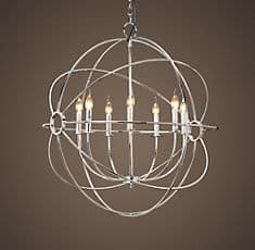 Foucaults Orb Chandelier from Restoration Hardware