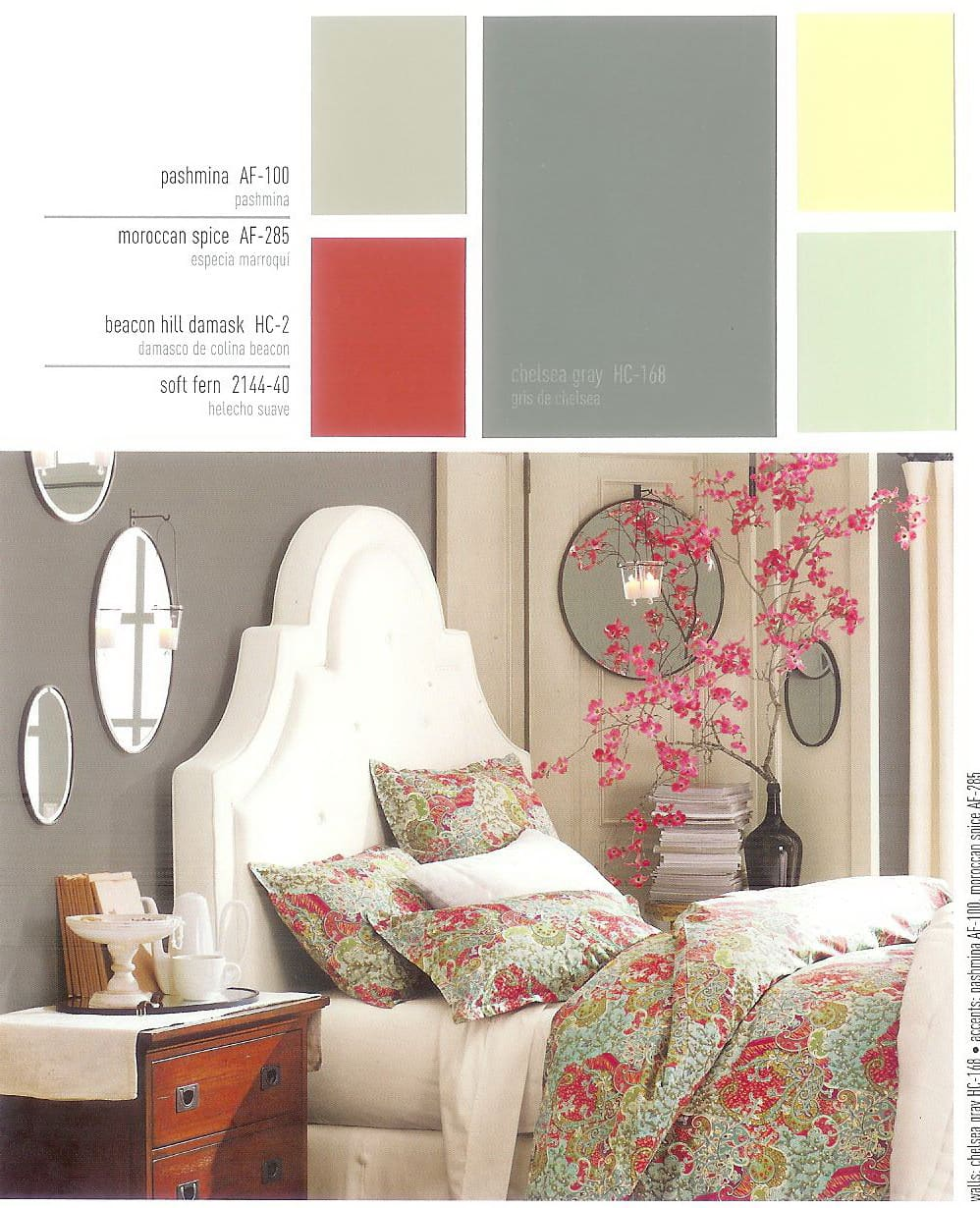 wall and accent colors