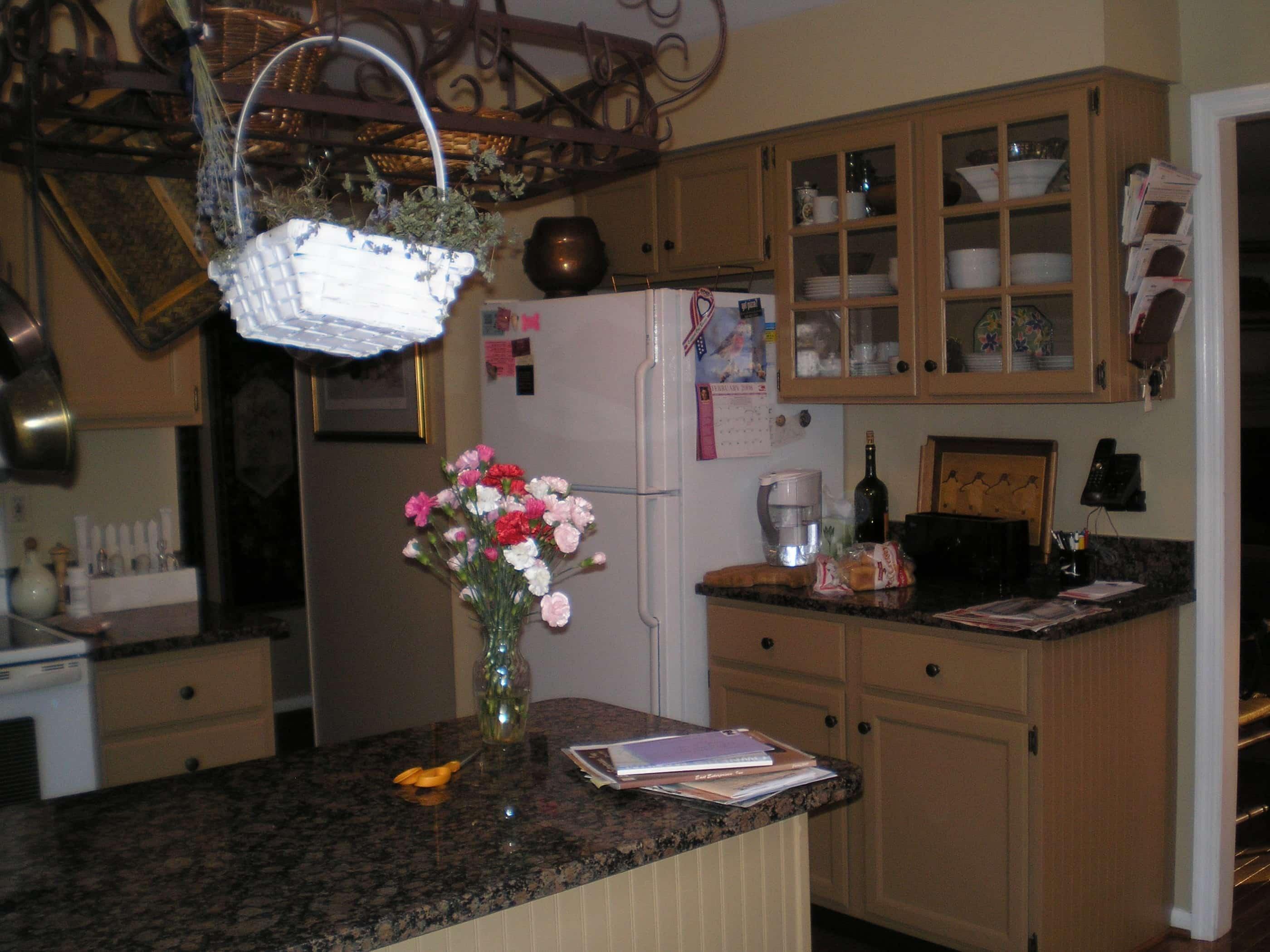 decluttering a cluttered kitchen