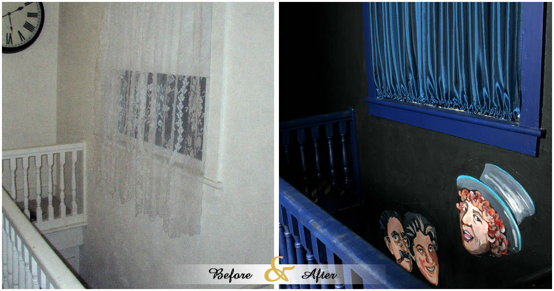 morris-theatre-before-and-after-stairway-window