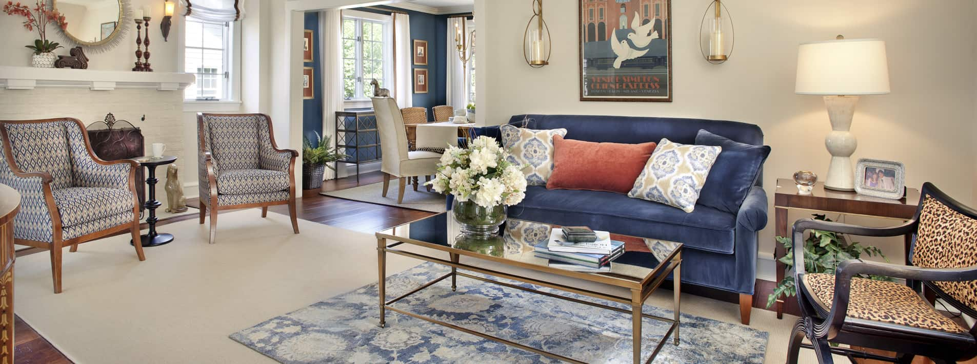 New Jersey Family Living Room Design