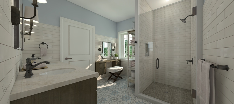 Lenore Spinelli Master Bath