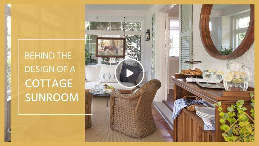 Cottage Sunroom Lenore Design
