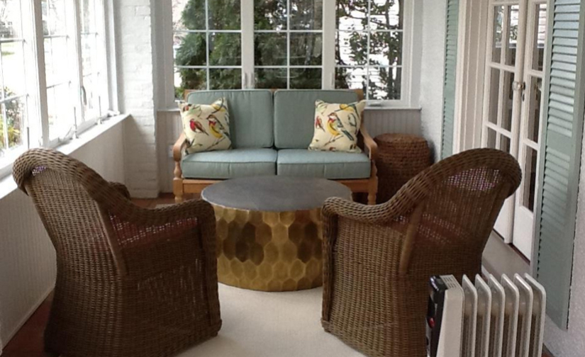 Sunroom Furniture Design Before After